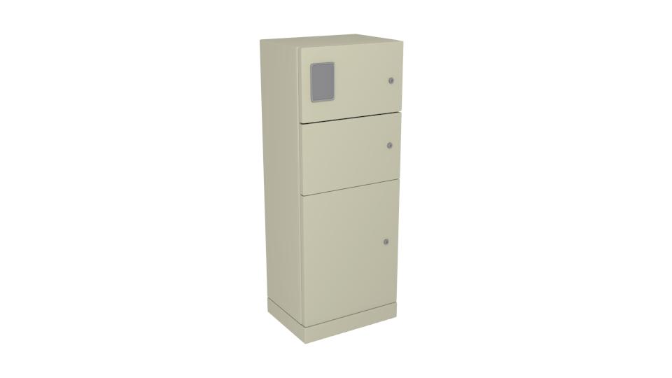 Semo Freestanding Primary Metering Cabinet Metal